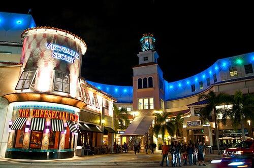 10 bons lugares para fazer compras em Miami e Key Biscane: Compras no Aventura Mall Shopping em Miami
