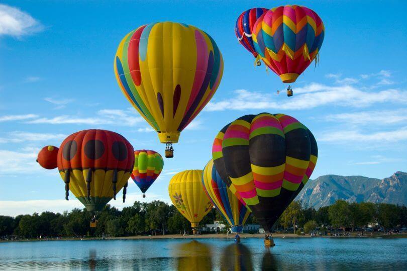 7 festivais e eventos legais em Orlando: Blue Skies Balloon Festival em Orlando