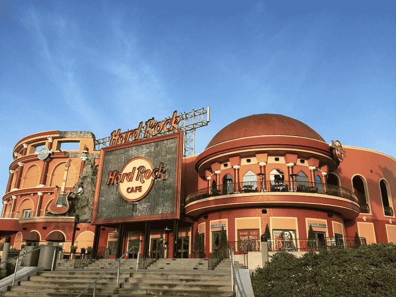 5 bares e baladas na International Drive Orlando: Hard Rock Live no Citywalk Universal