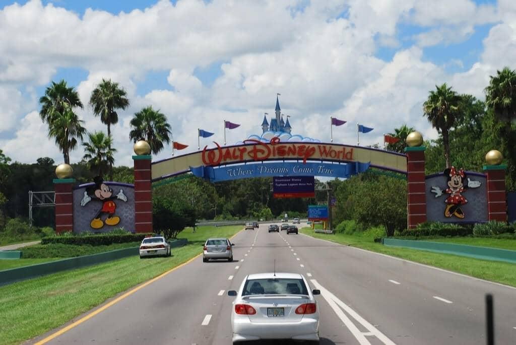 Entrada na Disney em Orlando