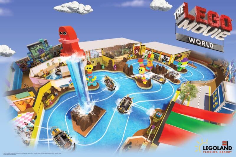 Área The Lego Movie World no Legoland Orlando
