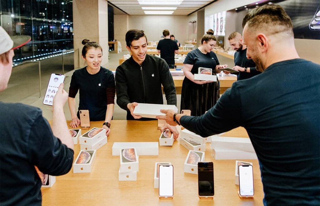 Apple Store nos Estados Unidos