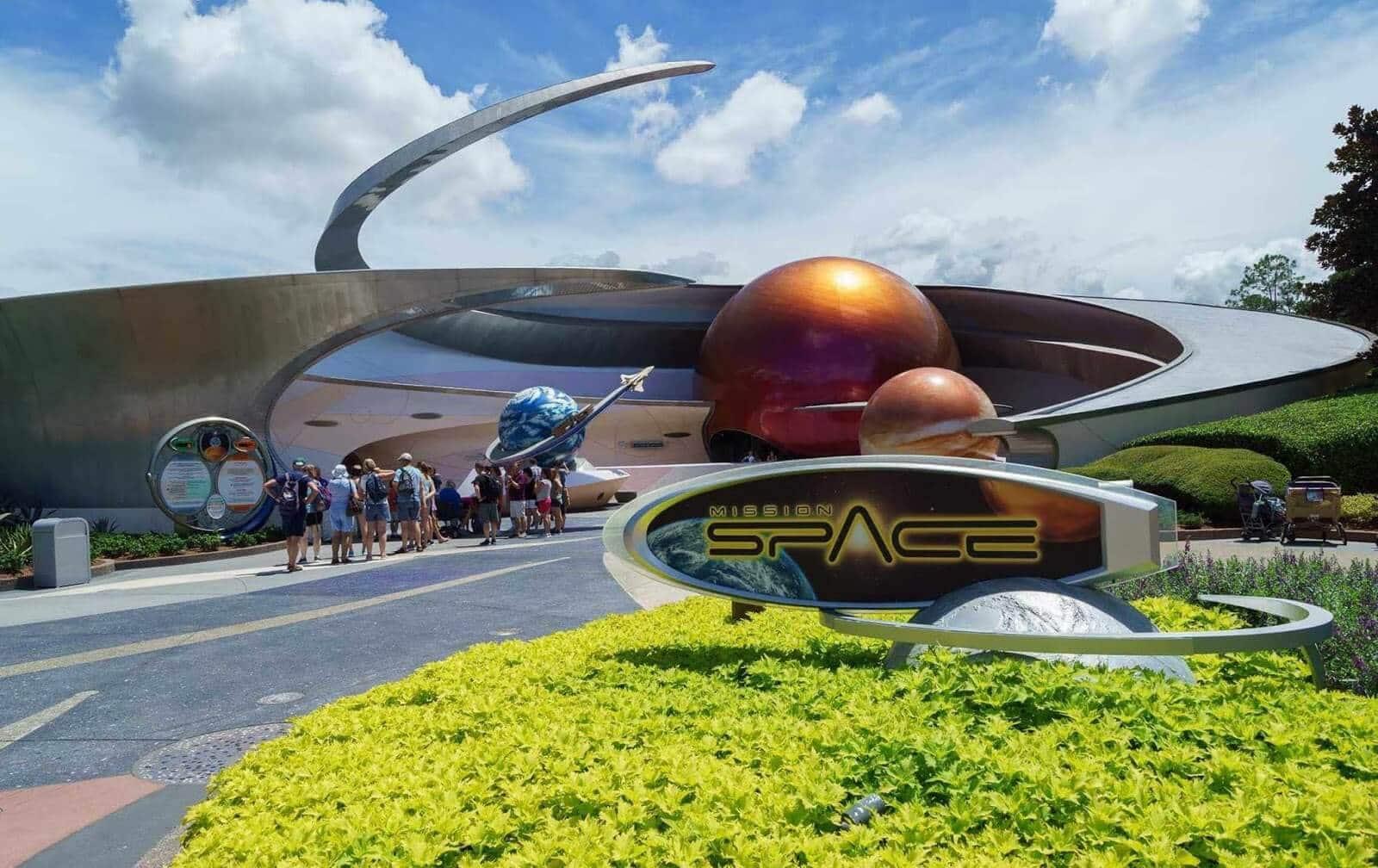 Space Restaurant no Epcot da Disney em Orlando