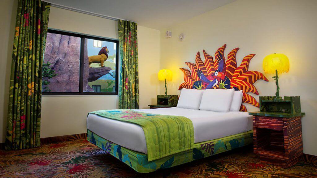 Descontos em hotéis na Disney Orlando para 2019: Quarto da Disney em Orlando