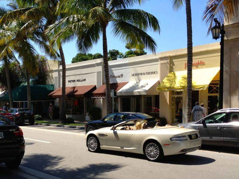 Rua de Miami Beach