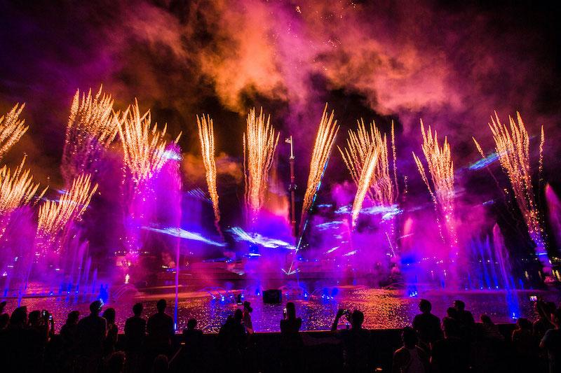 Electric Ocean: noites de verão no SeaWorld
