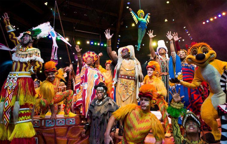 Festival of the Lion King no Animal Kingdom em Orlando