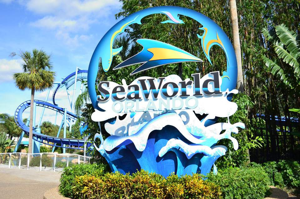 Entrada do SeaWorld Orlando