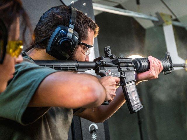 Estande de tiros Machine Gun em Orlando