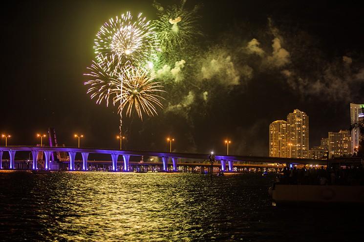 Ano Novo em Miami