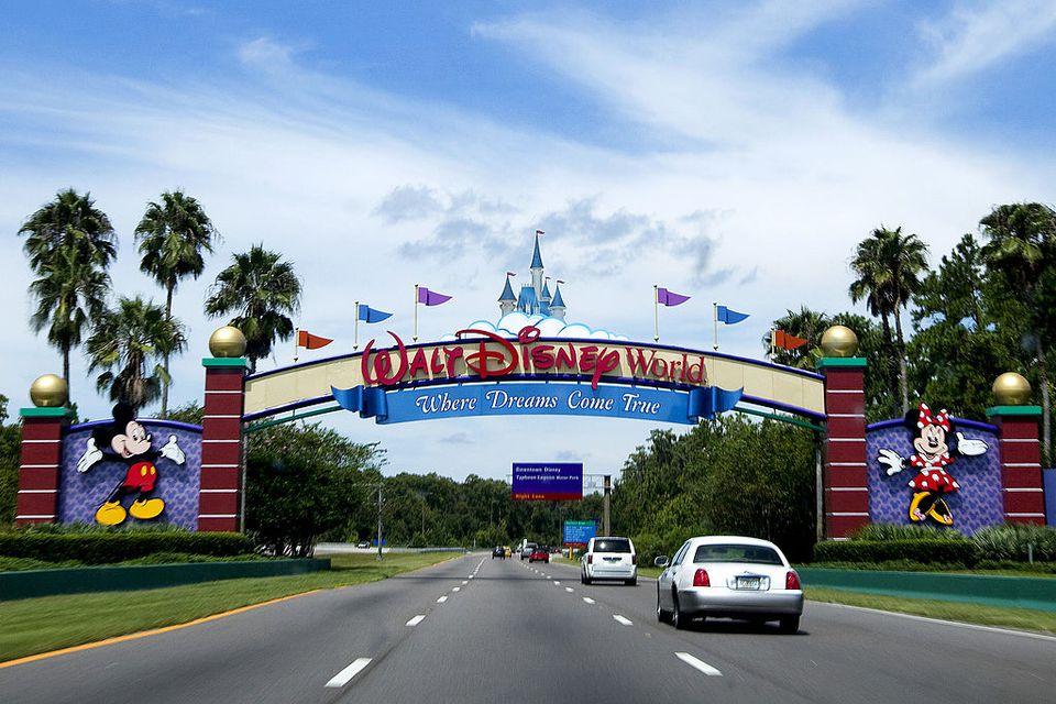 Carros na Disney Orlando