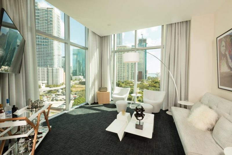 Quarto do Novotel Miami Brickell