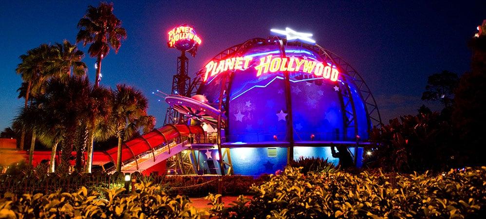 Planet Hollywood na Disney Springs