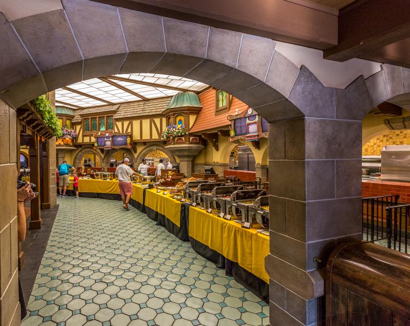 Buffet do Early Morning Magic da Disney em Orlando