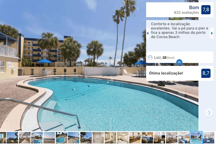 Hotel Days Inn by Wyndham em Cocoa Beach