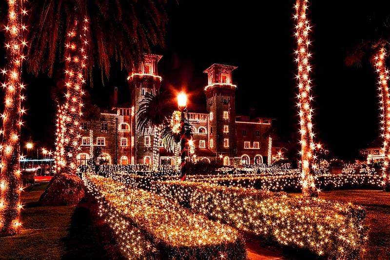 Noite em Saint Augustine