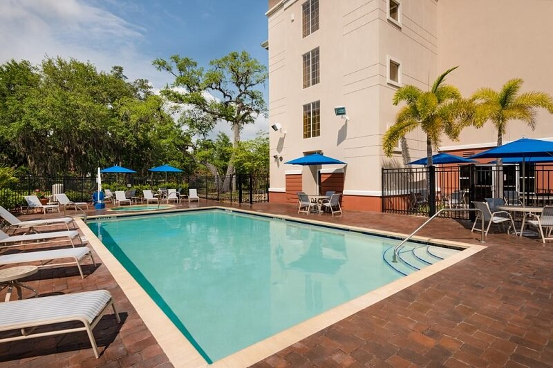 Piscina do Hotel Fairfield Inn and Suites by Marriott em Clearwater