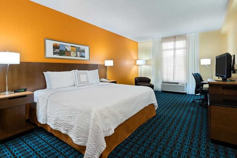 Quarto do Hotel Fairfield Inn and Suites by Marriott em Clearwater
