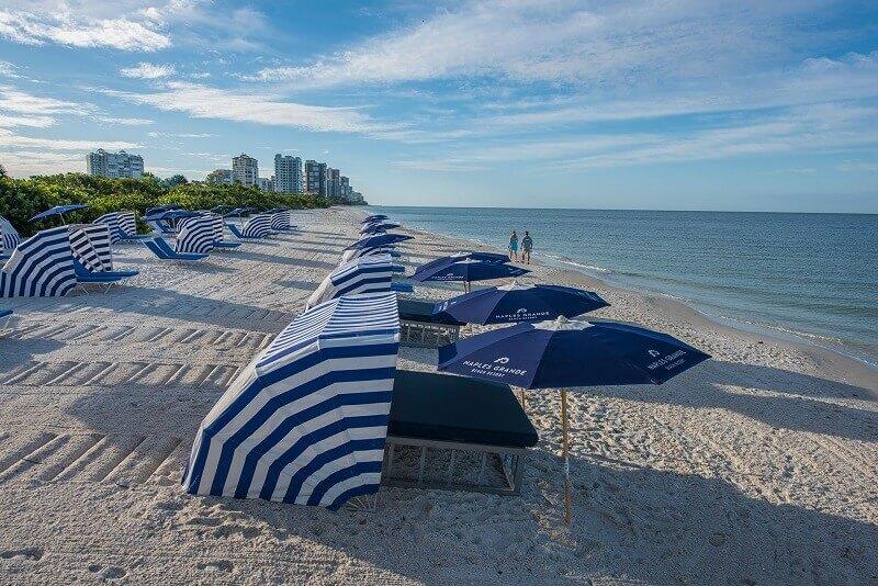 Praia na Flórida