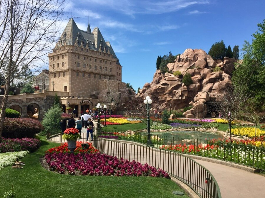 Pavilhão do Canadá no Disney Epcot