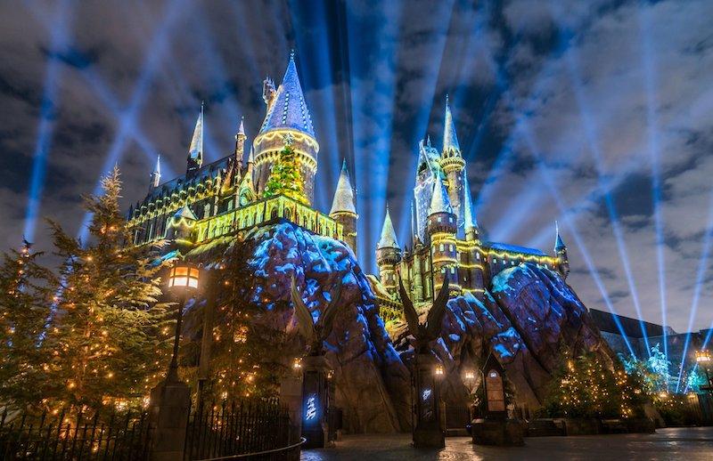 Área do Harry Potter em parque da Universal