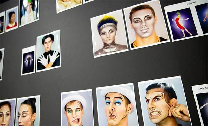 Imagens Drawn to Life do Cirque du Soleil na Disney Orlando