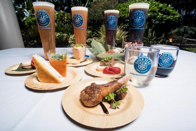 Refeições do Festival Seven Seas Food no SeaWorld Orlando