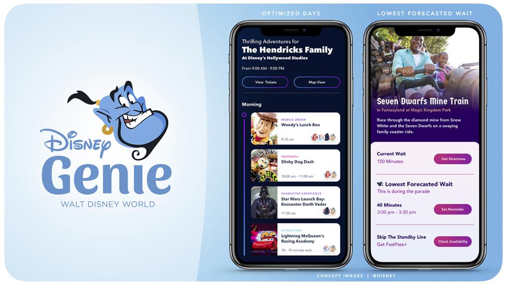 Disney Genie: ferramenta do aplicativo da Disney para pular filas