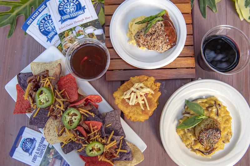 Evento gastronômico Seven Seas Food