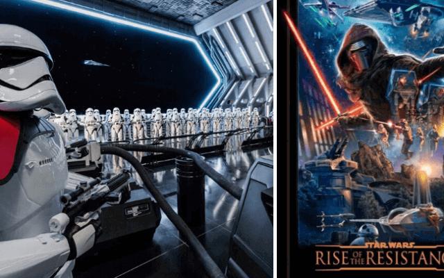 Atração Star Wars Rise of the Resistance na Disney Orlando