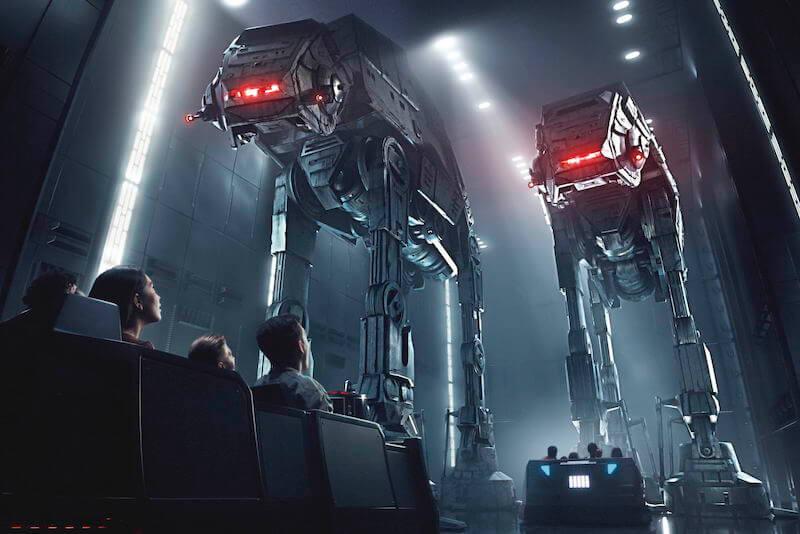 Simulador Star Wars Rise of the Resistance na Disney Orlando