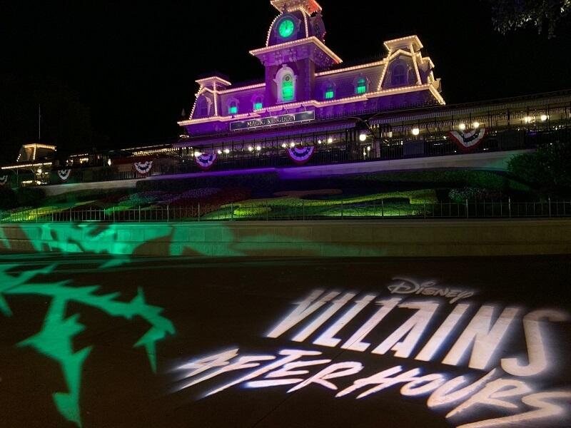 Disney Villains After Hours em Orlando em 2020