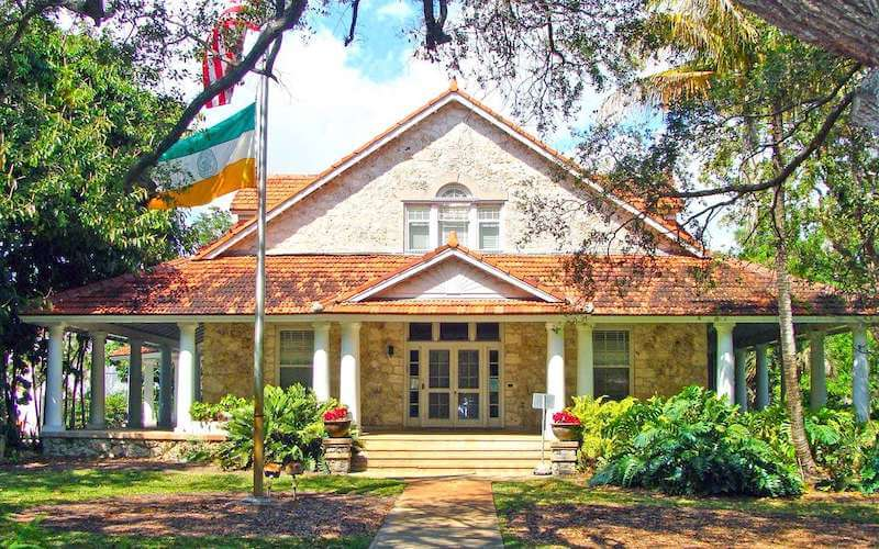 Merrick House em Coral Gables em Miami
