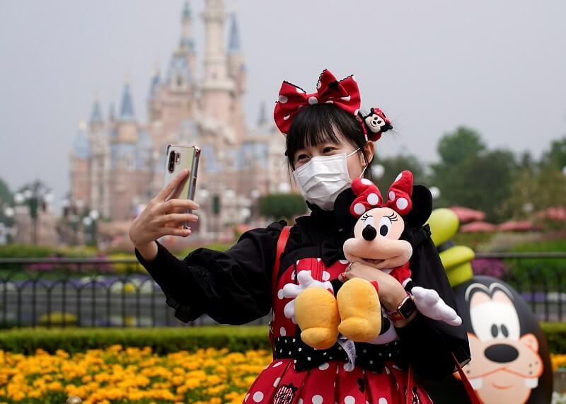Parque da Disney em Shangai