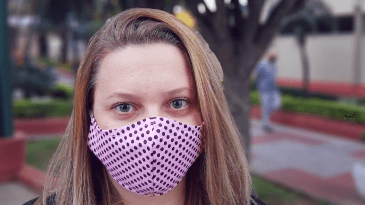 Máscara de proteção contra Covid-19