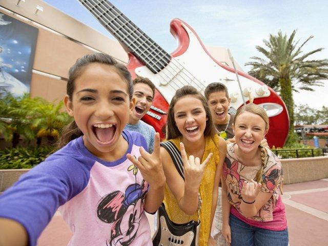 Excursão de adolescentes pela Disney em Orlando