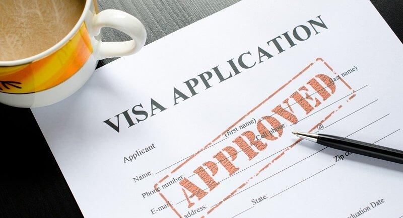 Processo de visto americano