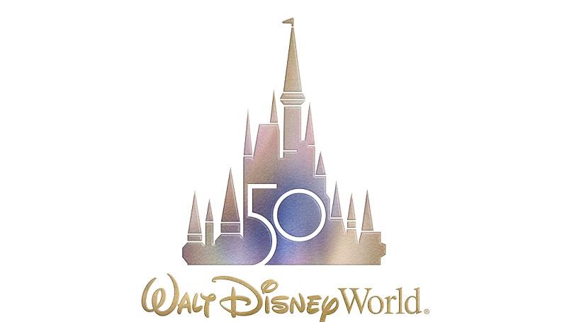 Logo dos 50 anos da Disney