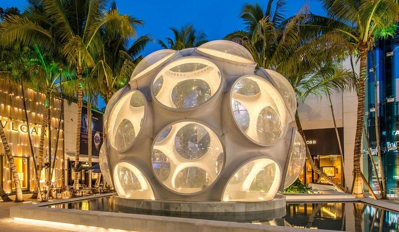 Fly's Eye Dome em Miami