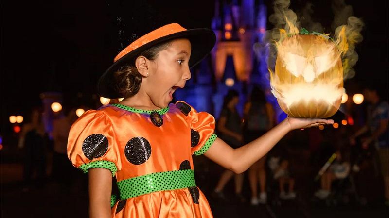 Fantasias de Halloween na Disney Orlando