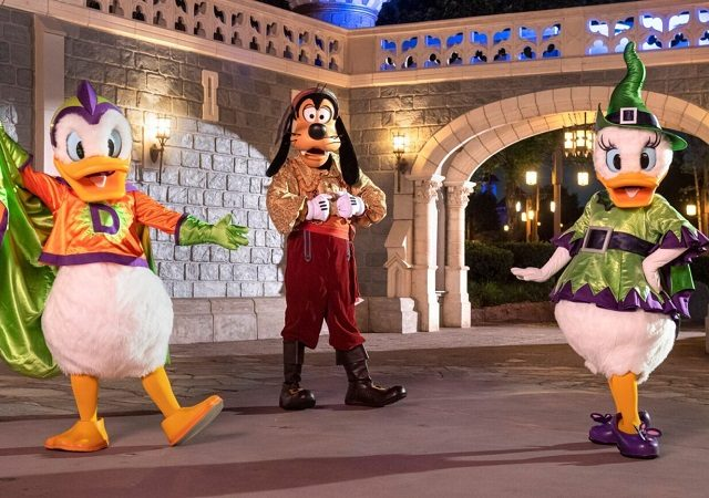 Halloween na Disney After Hours Boo Bash